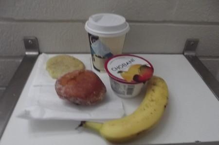 ハワイ・自室の朝食0623