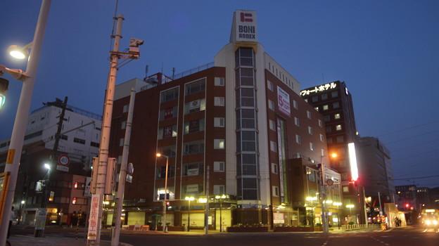 函館駅前 棒二森屋デパート(1018年解体予定)
