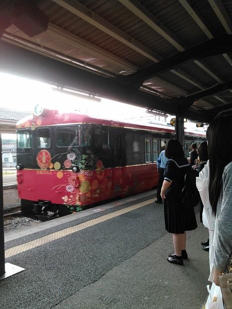 乗り鉄枠→花嫁のれん号 #加賀 #能登